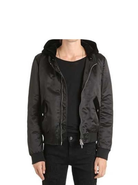 Shop ROUTE DES GARDEN BOMBER  BOMBER NERO MUST HAVE FALL WINTER ROUTE DES  GARDEN ... 950a9fe8835